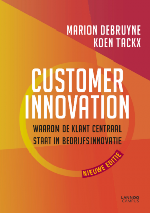 Screenshot van een van de boeken: Customer innovation.