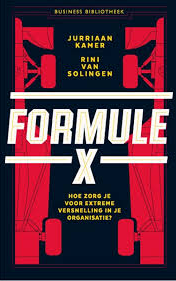 Screenshot van een van de boeken: Formule X.