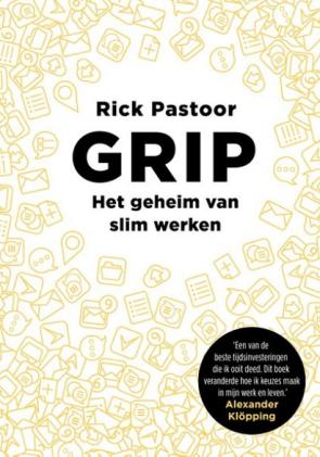 Screenshot van een van de boeken: Grip.
