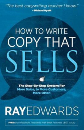 Screenshot van een van de boeken: How to write copy that sells.