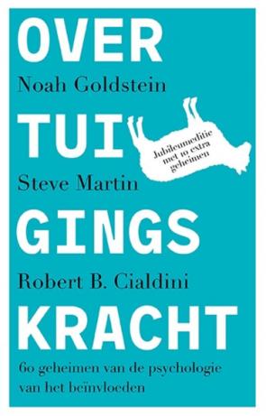 Screenshot van een van de boeken: Overtuigingskracht.