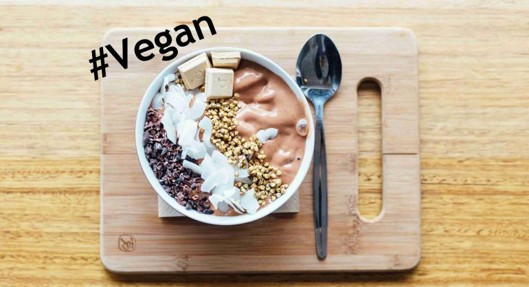Vegans op Instagram in de no-nonsense-economie.