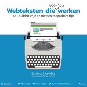 Screenshot van een van de boeken: Webteksten die werken.