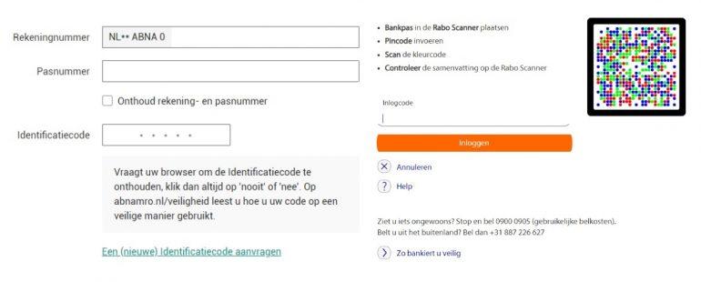 Screenshot van een bank die bewustwording creëert voor informatiebeveiliging.
