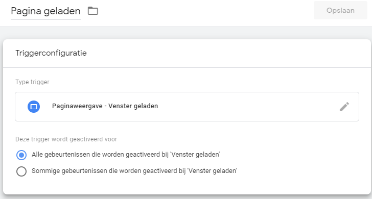 Google Tag Manager triggers.