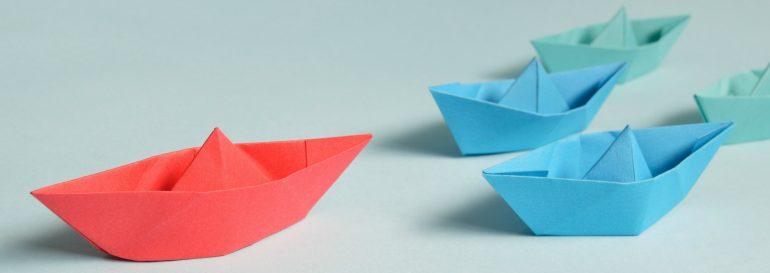 Afbeelding van de leiderschapspositie voor een strategisch narratief.