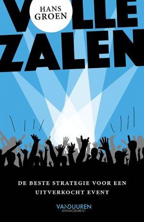 Cover van 'Volle zalen, de beste strategie voor een uitverkocht event'.