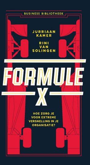 Afbeelding van het boek Formule X, om je organisatie te versnellen.