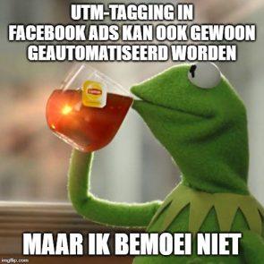 Meme UTM-tagging