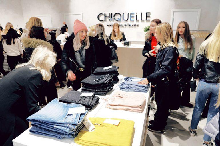 Afbeelding van de winkel Chiquelle, die relevant blijft door exclusiviteit.