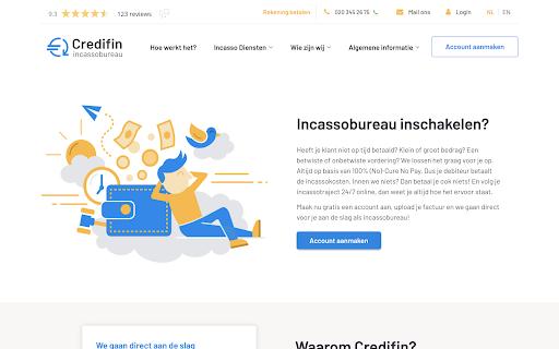 Screenshot Credifin