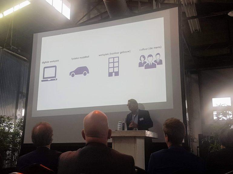 Presentatie HP van Tilburg op de Digital Workplace Day.