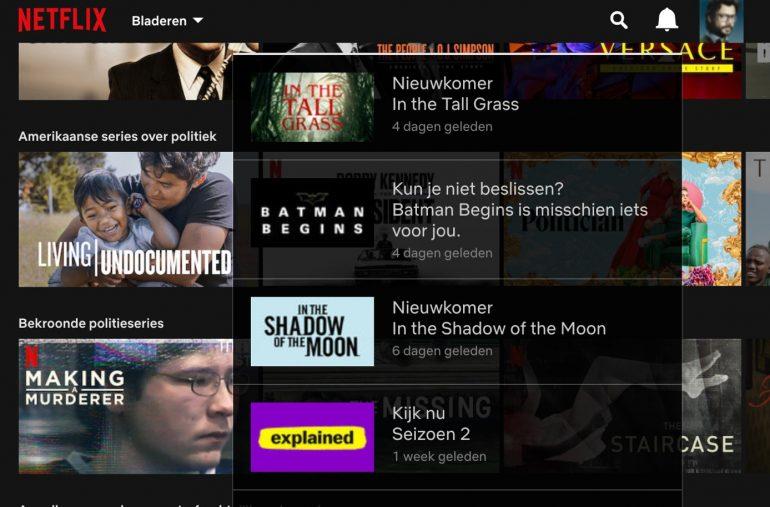 Aanbevelingen op Netflix