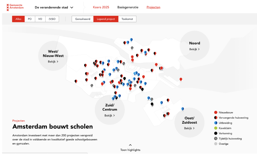 Digitale toegankelijkheid van gemeente Amsterdam.