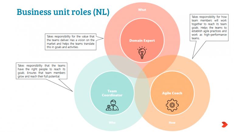 Overzicht van business unit roles