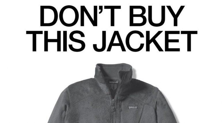 Koop deze jas niet - campagne Patagonia