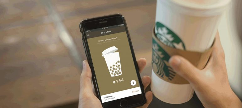 omnichannel-marketing van Starbucks.