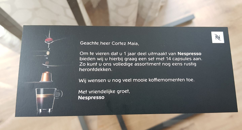 Marketing Nespresso