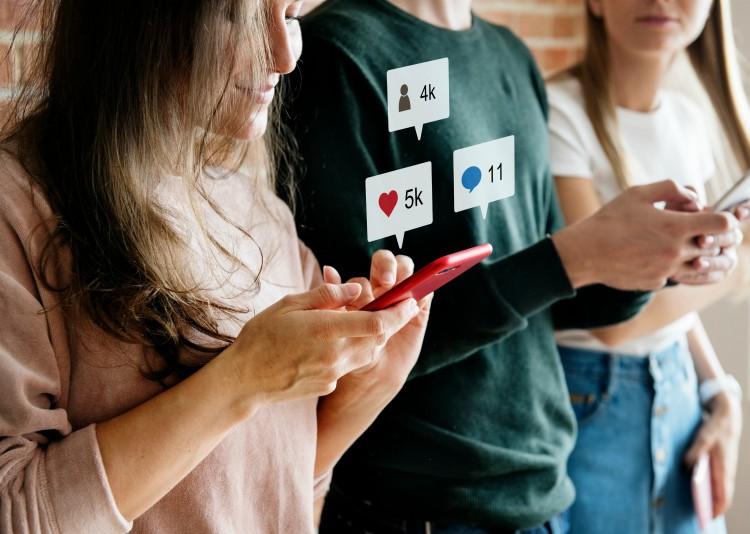 jongeren mobiel social