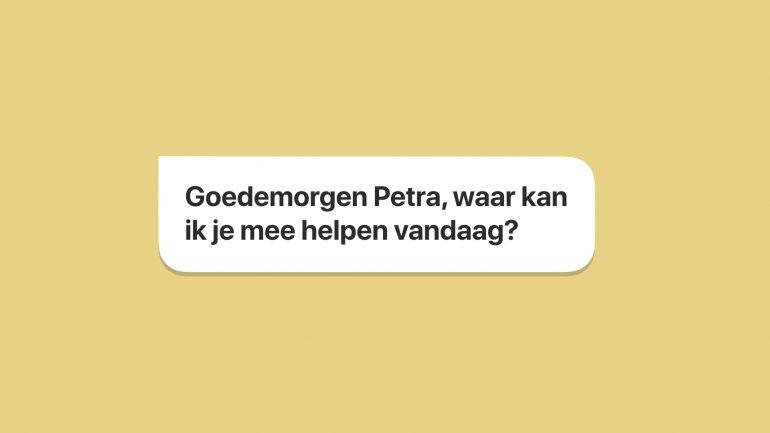 Vraag van een chatbot