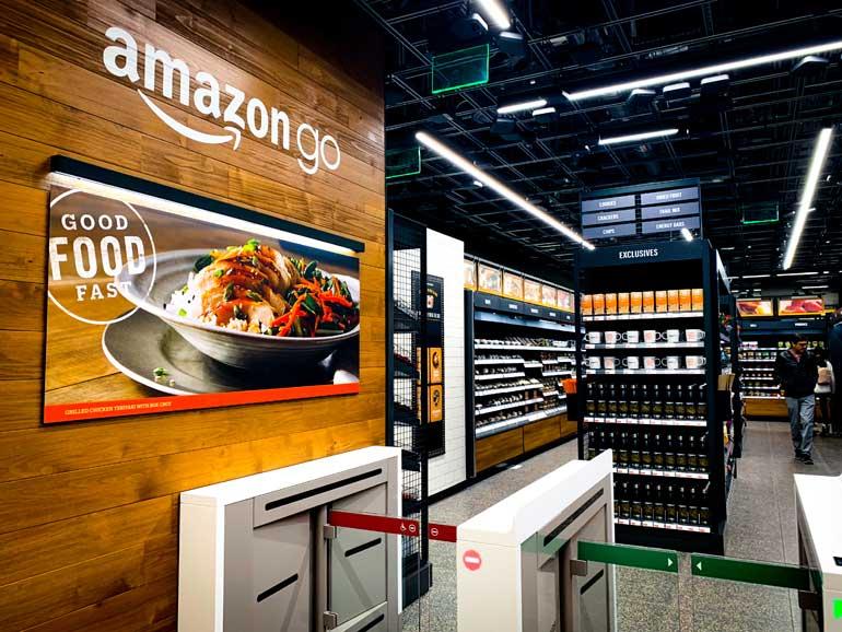 Amazon Go winkel.