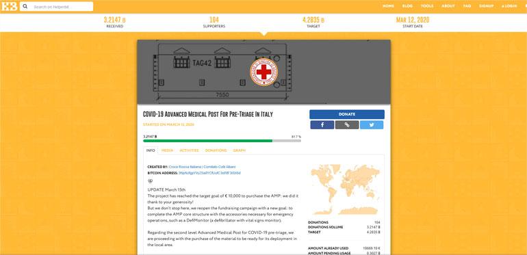 Helper Bit Italiaanse Rode Kruis.