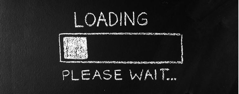 Een laadbalkje om aan te geven dat het voor de gebruikerservaring belangrijk is dat je app of site snel laadt.
