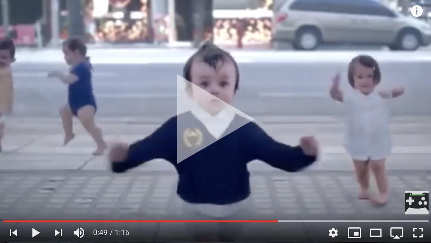 Deze afbeelding hoort bij FrankWatching Blog: Dit moet weten om jouw videos viraal te laten gaan van Stephan Makatita. Dit is een voorbeeld van een emotionele video van Evian.