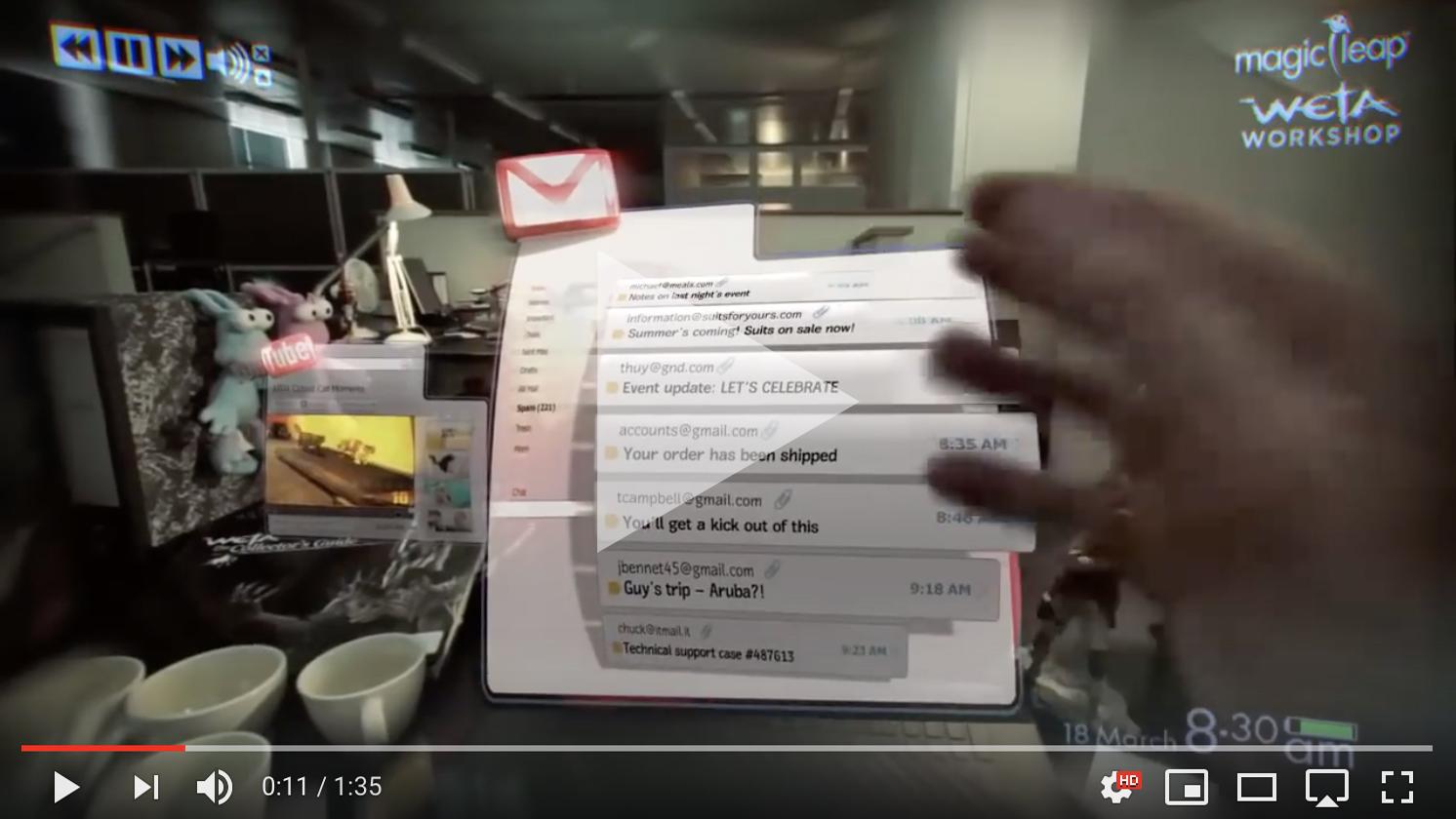 Deze afbeelding hoort bij FrankWatching Blog: Dit moet weten om jouw videos viraal te laten gaan van Stephan Makatita. Magic Leap