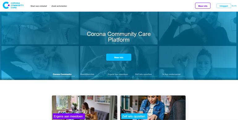 Corona community care platform.