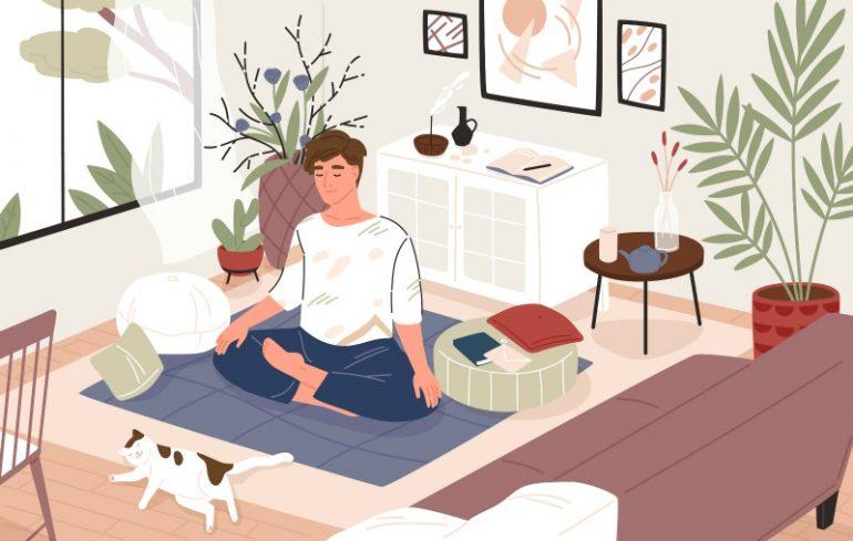 mediteren rust brein creatief