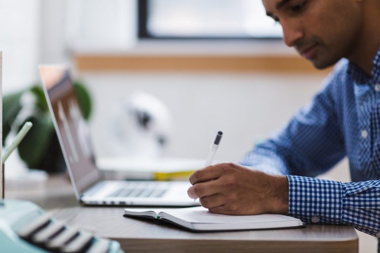Notities maken online meeting