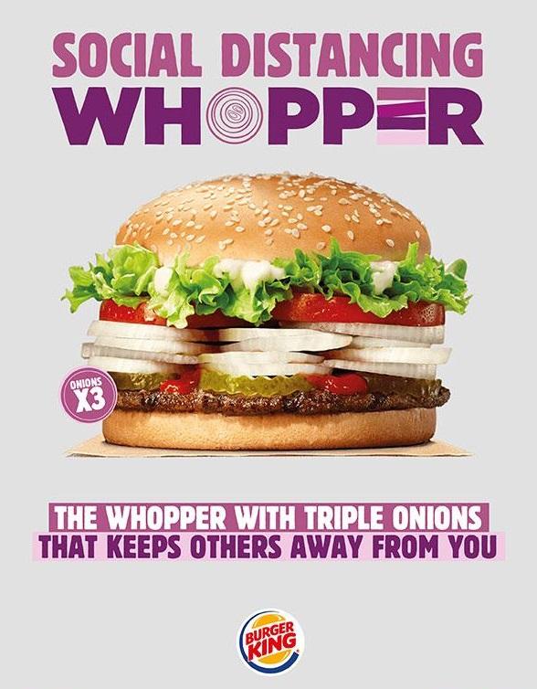 De marketingcampagne van Burger King.