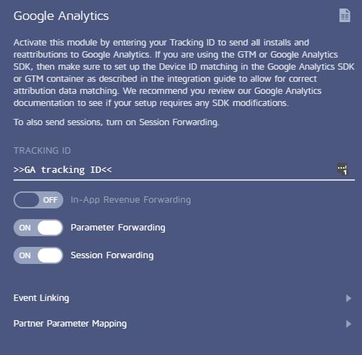 Google Analytics settings adjust 3