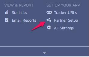 Mobile App Tracking met Adjust settings adjust 2