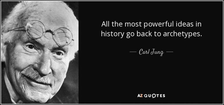 Citaat Carl Jung over krachtige ideeën.