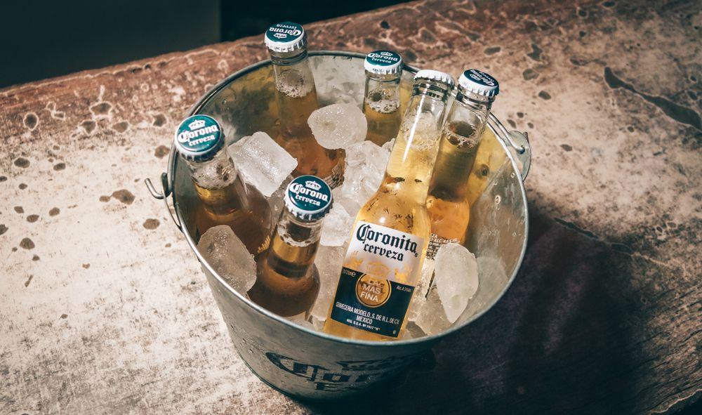 Coronita bier.