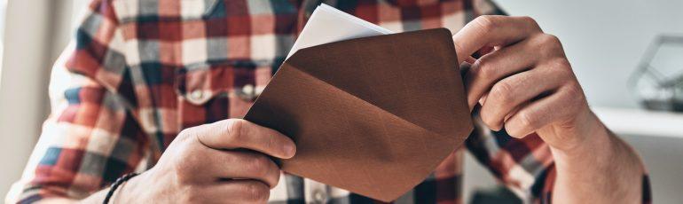 nieuwsbrief e-mail envelop