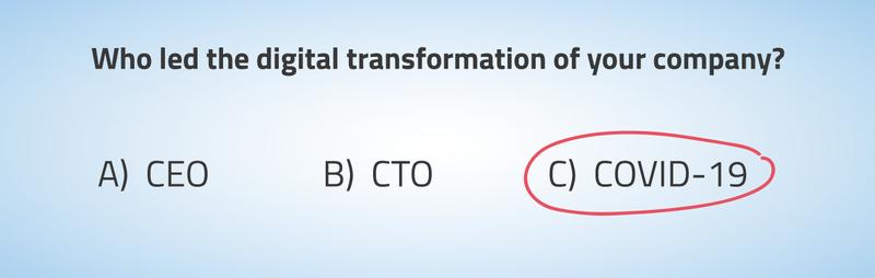 Illustratie bij punt 2. Noodzakelijke digitale transformatie