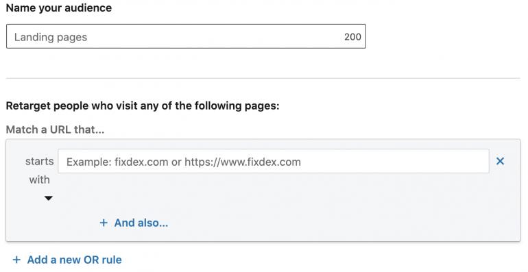 remaketing op linkedin websiteverkeer