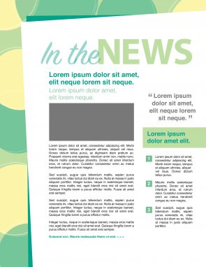 Nieuwsbrief lay-out