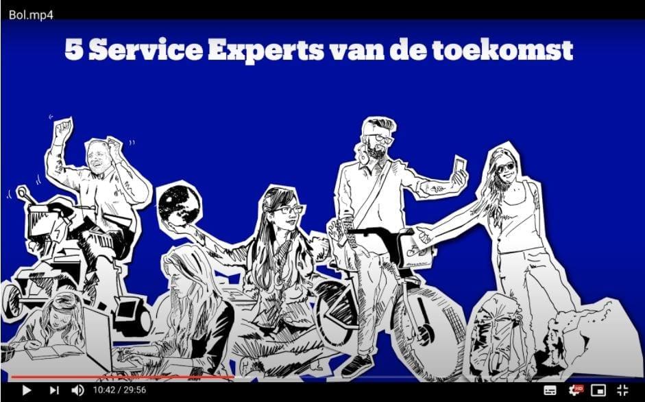De service-experts van de toekomst van bol.com voor klantcontact.