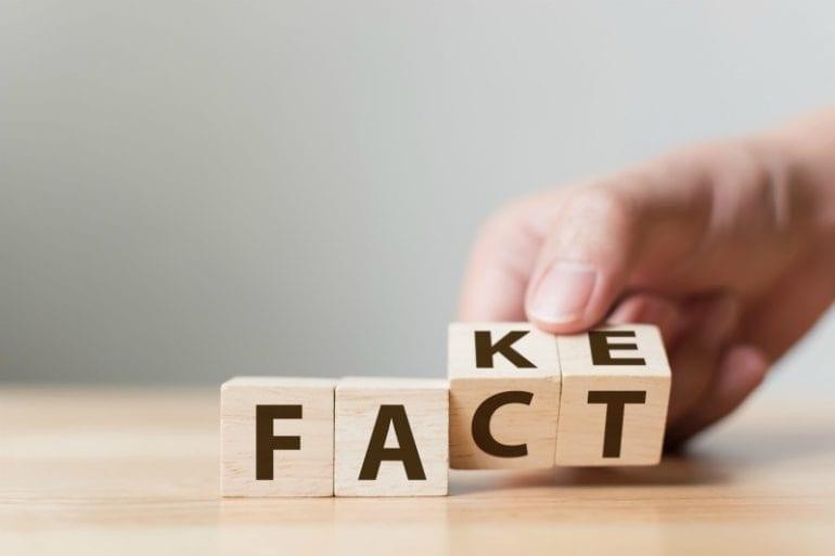 fake of fact