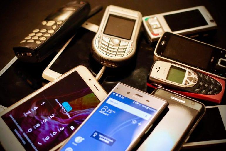 Telefoons en smartphones