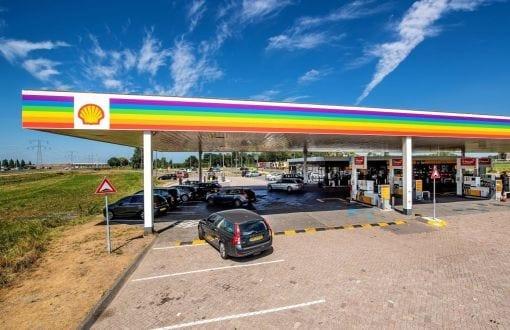 Shell's actie voor de LHBT-community.