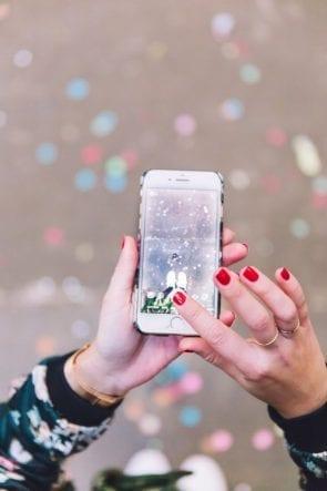 Instagram op smartphone