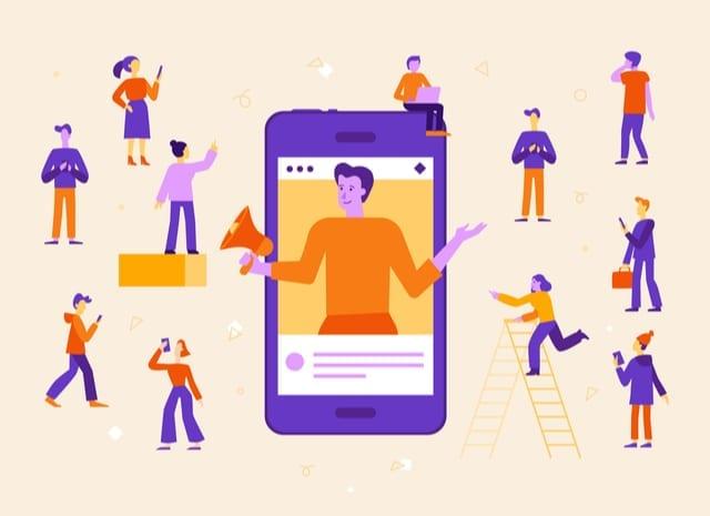 influencer marketing via telefoon