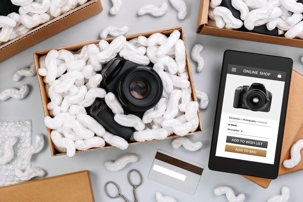 Productlabel voor in je webshop.