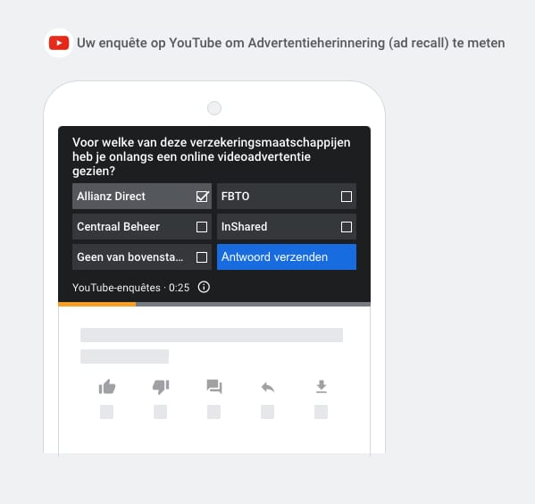 Adverteren YouTube Brand Lift studie