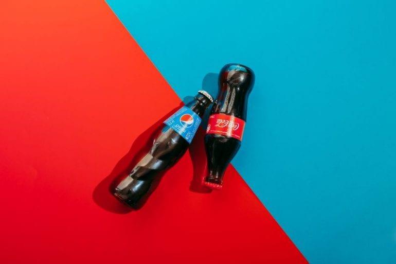 Coca-Cola en Pepsi